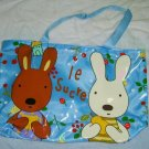 Waterproof Cute Blue Children Rabbit Bag