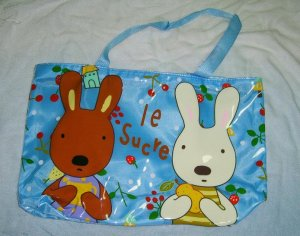 Waterproof Cute Blue Children Rabbit Bag