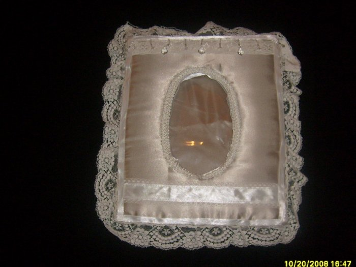 Satin Wedding Picture Frame