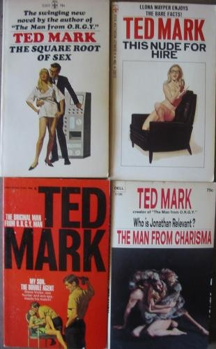 Lot 4 Ted Mark Paperbacks Adult Spy Novels FREE US SHIPPING