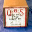 #7745 Moonlight Bay QRS Word Roll Frank Milne