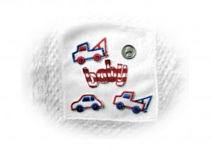 Sampler of Toddler/Baby Boys Embroidered Appliques. Baby,Trucks,Car (2)