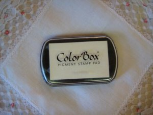 ColorBox Archival Quality Ink Pad #15080 Frost White