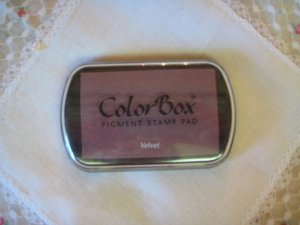 ColorBox Archival Quality Ink Pad #15152 Velvet