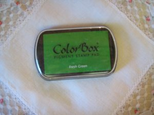 ColorBox Archival Quality Ink Pad #15022 Fresh Green