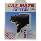 Cat Mate Electromagnetic Cat Door in White