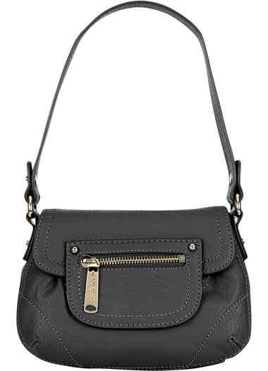 NINE WEST Leather Crossbody Handbag Purse Sling NEW