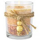 Rustic Wood Votive Candle