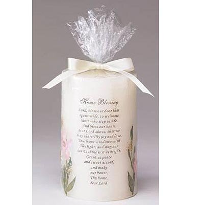 """""""Home Blessing"""" Candle"""