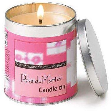 Rose du Martin Candle Tin