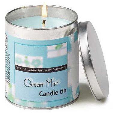 Ocean Mist Candle Tin