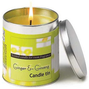 Ginger and Ginseng Candle Tin