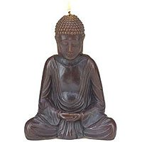 Resting Buddha Candle