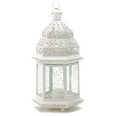Large Cutwork Garden Lantern