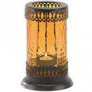 Amber Glass Lantern