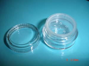 5 GRAM JAR WITH SIFTER- (20 JARS) GREAT FOR PIGMENTS SAMPLES