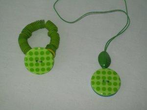 Reversable Necklace And Bracelet Set