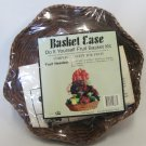Basket Ease Fruit Basket Kit 3 Wicker Bows Cello Shrink Wrap