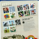 Celebrate The Century 1930s USPS Collectible Stamps 2000