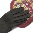 Brown Gloves Vintage Retro Chic Women Winter Fashion Accessory