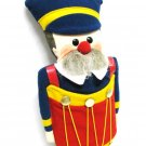 Vintage Nutcracker Hallmark Collectible Soft Body Christmas Decor 1981