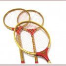 Red Hawk Vintage Badminton Racquets Classic Old School Racket