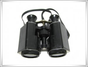 Vintage Boy Scouts Binoculars Rare Black Camping Hiking Sporting Goods Collectible