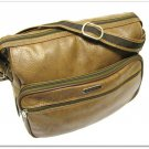 Vintage Overnight Bag Samsonite Carry On Luggage Caramel Tote Travel Messenger Shoulder Strap