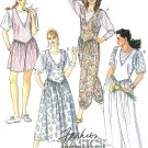 Jumpsuit Sewing Pattern Genie Dress Jumper T-shirt Easy Size 12 Summer McCall's 5368