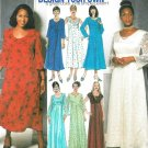 Simplicity Sewing Pattern Plus Dress Evening Formal Princess Seams Sleevless Long Sleeve 18-24 9517