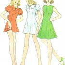 Vintage Sewing Pattern Mini Dress Flared Skirt Short Sleeve Sleeveless McCalls 3536 Junior 9