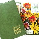 Parks Seed Company 1964 Floral Magazine Binder Gardening Horticulture How To Grow Flowers Plants