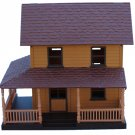 Old Western Town Frontier Home Miniature 1:32 New Ray Cabin 2 Story Ranch House