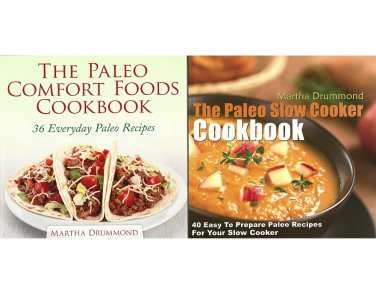 Paleo Cookbooks Martha Drummond Comfort Food Slow Cooker Easy Recipes Nutrition Healthy