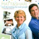 Matt Shari Real Decorating Book for Real People DIY Bedroom Bathroom Living Kitchen