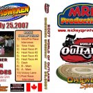 DVD - 2007 World of Outlaws Sprint Cars from July 25th