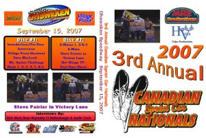 DVD - 2007 Canadian Sprint Car Nationals from Sept 14/15