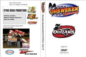 Ohsweken Speedway World of Outlaws Aug 1/10 DVD