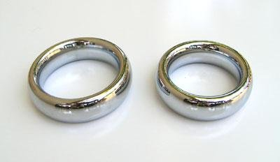 Chrome Donut Cock Ring