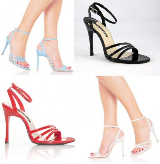 """""""Fresh"""" - Women's Open Toe Strappy Ankle Wrap Sandal"""