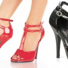 """Seduce"" - Women's Peep Toe Sandals/Shoes with Dual Ankle Straps"