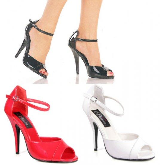 """""""Seduce"""" - Women's Peep Toe Ankle Strap Sandals/Shoes"""