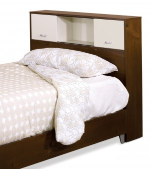 Twin Size Bed Storage Headboard