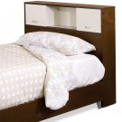 Full - Double Size Bed Storage Bookcase Headboard
