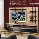 Plasma / LCD / DLP TV Stand Base Storage Entertainment Center