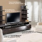 Flat Screen TV Plasma / LCD Storage Tower Stand Entertainment Center