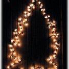 Hanging Christmas Tree Yard / House Decoration Home Outdoor Decor Lights