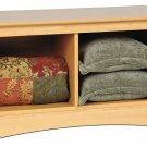 Maple Twin Hallway Bed Footboard Bench Storage Room Organizer