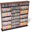 CHERRY Triple Wall CD / DVD / BLU-RAY Movie / Video Game Storage Tower Organizer