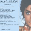 michael jackson remix collection vol 1 dj dance mixes rare